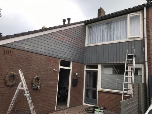 schilderen woonhuis oud